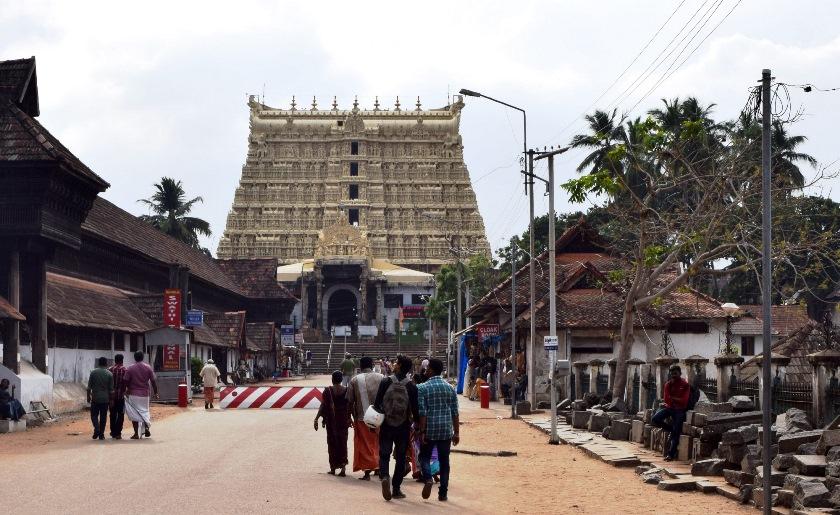 Templo en Trivandrum
