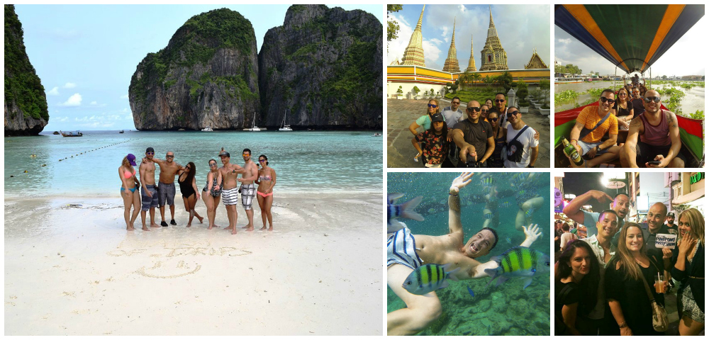 Primer viaje grupal a Tailandia