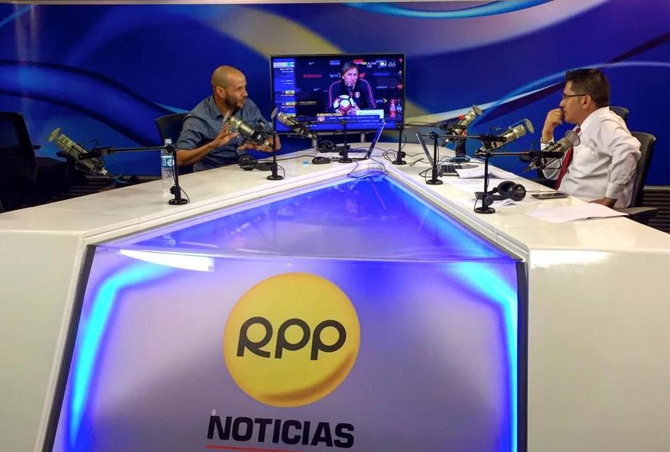 Entrevista en RPP Perú hablando sobre la segunda temporada de Check In