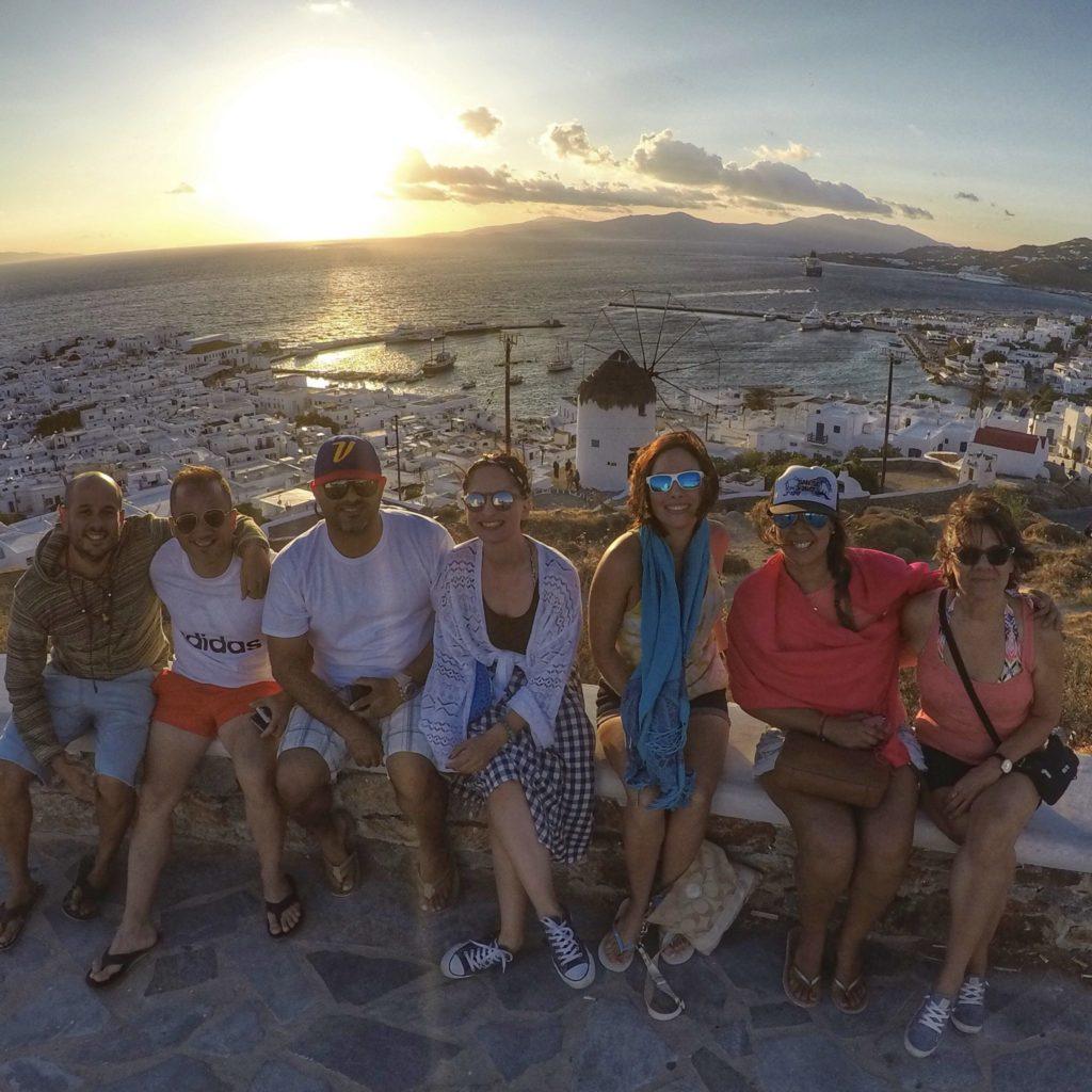 Atardeceres de Mykonos
