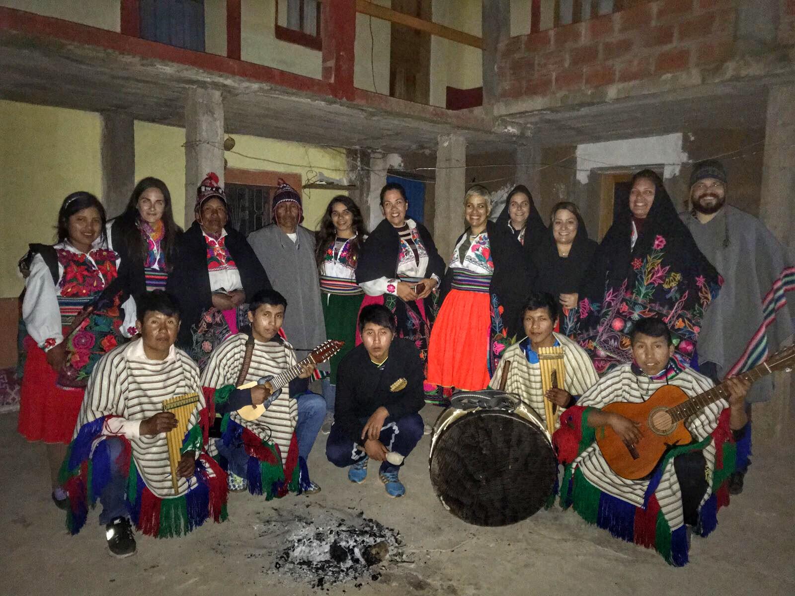 Convivencia con familia en la Isla de Amantaní, Puno